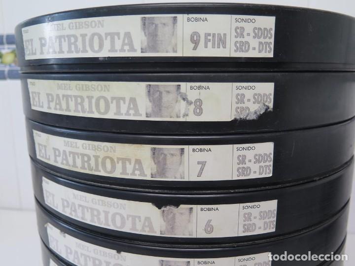 Cine: EL PATRIOTA (MEL GIGSON) PELÍCULA-35 MM-SCOPE RETRO-VINTAGE FILM-MUY NUEVA - Foto 2 - 178922765