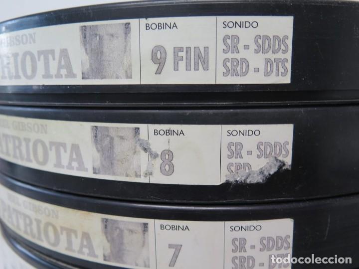 Cine: EL PATRIOTA (MEL GIGSON) PELÍCULA-35 MM-SCOPE RETRO-VINTAGE FILM-MUY NUEVA - Foto 3 - 178922765