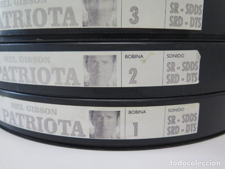 Cine: EL PATRIOTA (MEL GIGSON) PELÍCULA-35 MM-SCOPE RETRO-VINTAGE FILM-MUY NUEVA - Foto 10 - 178922765