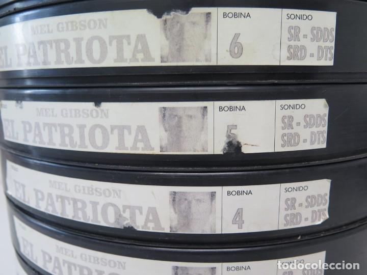 Cine: EL PATRIOTA (MEL GIGSON) PELÍCULA-35 MM-SCOPE RETRO-VINTAGE FILM-MUY NUEVA - Foto 11 - 178922765