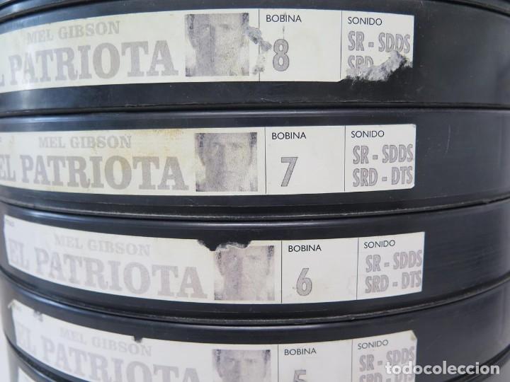 Cine: EL PATRIOTA (MEL GIGSON) PELÍCULA-35 MM-SCOPE RETRO-VINTAGE FILM-MUY NUEVA - Foto 12 - 178922765