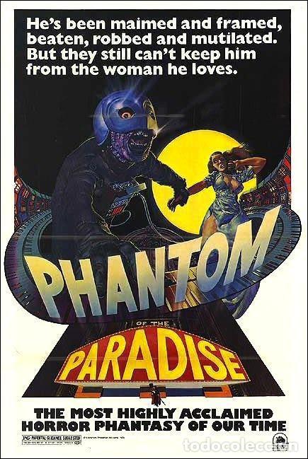 PELÍCULA LARGOMETRAJE DE CINE EN 35MM EL FANTASMA DEL PARAÍSO (1974) (VOSE NUEVA DE LABORATORIO) (Cine - Películas - 35 mm)