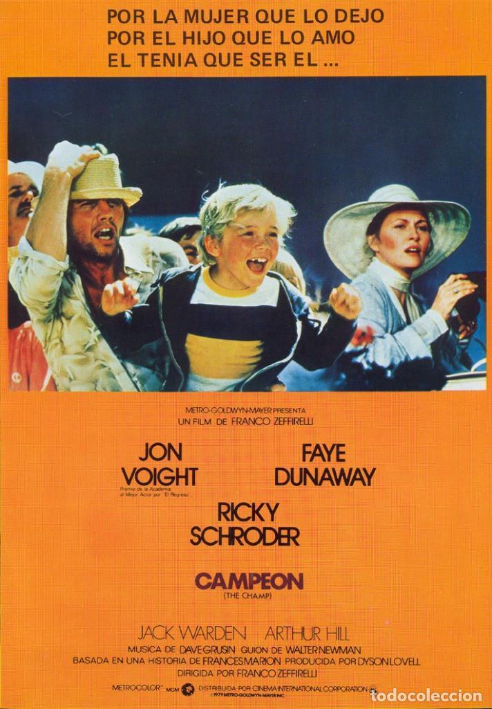 PELÍCULA DE CINE EN 35MM CAMPEÓN (1979) (Cine - Películas - 35 mm)