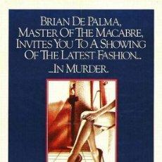 Cine: PELÍCULA LARGOMETRAJE DE CINE EN 35MM VESTIDA PARA MATAR (1980). Lote 189147502