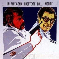 Cine: PELÍCULA LARGOMETRAJE DE CINE EN 35MM SÁBADO INESPERADO (1973). Lote 189900487