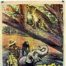 Cine: PELÍCULA LARGOMETRAJE DE CINE EN 35MM TAFFY, CAZADOR EN LA JUNGLA (1965). Lote 189901797