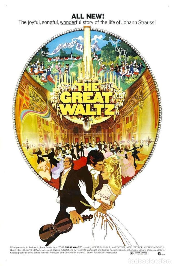 PELÍCULA LARGOMETRAJE DE CINE EN 35MM EL GRAN VALS (1972) (Cine - Películas - 35 mm)