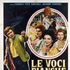 Cine: PELÍCULA LARGOMETRAJE DE CINE EN 35MM JOVEN, GUAPO Y CON VOZ DE SOPRANO (1964). Lote 190128697