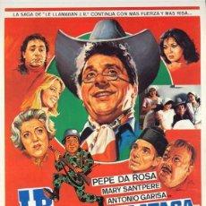 Cine: TRÁILER PELÍCULA DE CINE EN 35MM JR CONTRAATACA. Lote 193817047