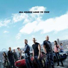 Cine: TRÁILER PELÍCULA DE CINE EN 35MM A TODO GAS 6 (FAST AND FURIOUS 6). Lote 244535435
