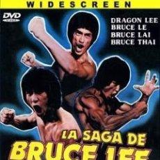 Cine: TRÁILER PELÍCULA DE CINE EN 35MM LA SAGA DE BRUCE LEE. Lote 197679606