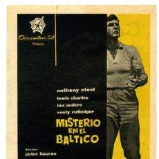 Cine: PELÍCULA LARGOMETRAJE DE CINE EN 35MM MISTERIO EN EL BÁLTICO (1959). Lote 199977802