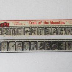 Cine: TRAIL OF THE MOUNTIES, RUSSEL HAYDEN - FILM STIPS. Lote 200545292
