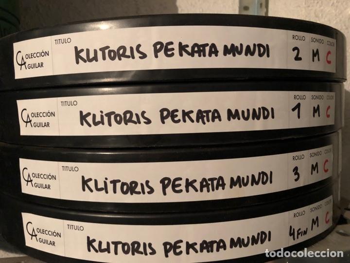 Cine: Película largometraje de cine en 35mm KLITORIS PECATA MUNDI (1976) - Foto 2 - 144211318