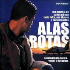 Cine: PELÍCULA LARGOMETRAJE DE CINE EN 35MM ALAS ROTAS (2004). Lote 202717053