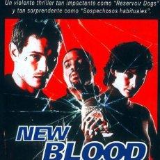 Cine: PELÍCULA LARGOMETRAJE DE CINE EN 35MM NEW BLOOD (1999). Lote 204102261