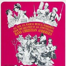 Cine: PELÍCULA LARGOMETRAJE DE CINE EN 35MM EL SOÑADOR AVENTURERO (1966). Lote 204767052