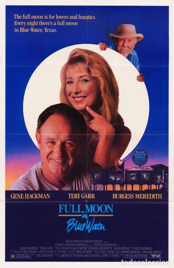 LARGOMETRAJE EN 35MM LUNA LLENA EN AGUA AZUL (1988) (Cine - Películas - 35 mm)