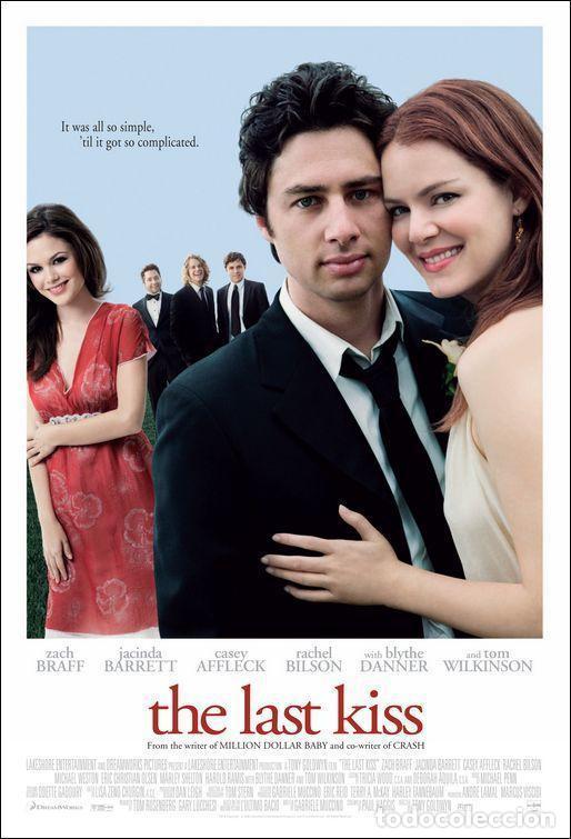 PELÍCULA LARGOMETRAJE DE CINE EN 35MM EL ÚLTIMO BESO (2006) (Cine - Películas - 35 mm)