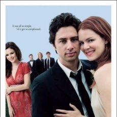 Cine: PELÍCULA LARGOMETRAJE DE CINE EN 35MM EL ÚLTIMO BESO (2006). Lote 206811103