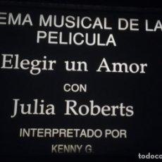 Cine: 35MM ++ TEMA MUSICAL DE LA PELÍCULA ELEGIR UN AMOR. KENNY G ++ 120 METROS. Lote 208942887