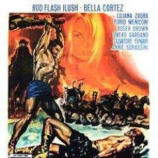 Cine: PELÍCULA LARGOMETRAJE DE CINE EN 35MM TITÁN CONTRA VULCANO (1962). Lote 211730285