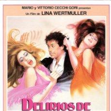 Cine: PELÍCULA LARGOMETRAJE DE CINE EN 35MM DELIRIOS DE UN MARIDO (1984). Lote 211730735