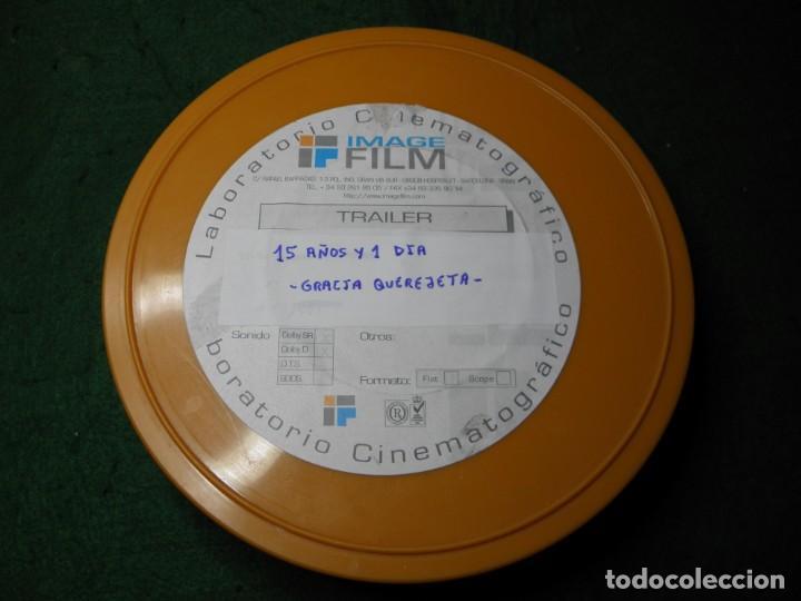 TRAILER PELICULA 35 MM 15 AÑOS Y 1 DIA - GRACIA QUEREJETA (Cine - Películas - 35 mm)