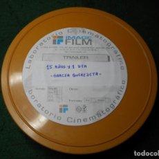 Cine: TRAILER PELICULA 35 MM 15 AÑOS Y 1 DIA - GRACIA QUEREJETA. Lote 211817145