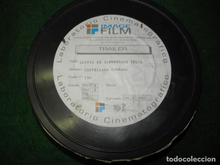 TRAILER PELICULA 35 MM LLUVIA DE ALBONDIGAS (Cine - Películas - 35 mm)