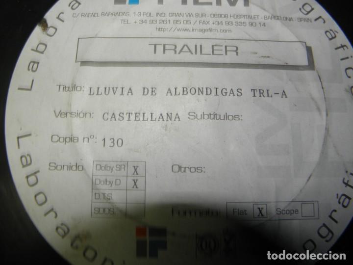 Cine: TRAILER PELICULA 35 MM LLUVIA DE ALBONDIGAS - Foto 2 - 211817872