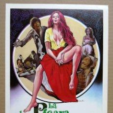 Cine: PELÍCULA LARGOMETRAJE DE CINE EN 35MM LA PÍCARA, EL TRUHÁN Y OTRAS COSAS QUE CONTAR (1975). Lote 211966132