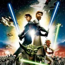 Cine: TRÁILER PELÍCULA DE CINE EN 35MM STAR WARS: CLONE WARS (2008). Lote 227865150
