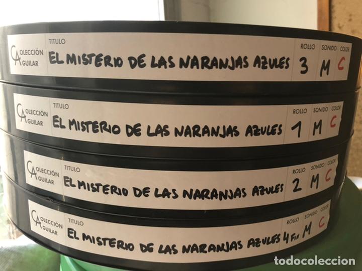 Cine: Película largometraje de cine en 35mm TINTÍN Y EL MISTERIO DE LAS NARANJAS AZULES (1964) - Foto 2 - 235277110