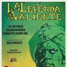 Cine: PELÍCULA LARGOMETRAJE DE CINE EN 35MM LA LEYENDA DE UN VALIENTE (1967). Lote 237199985