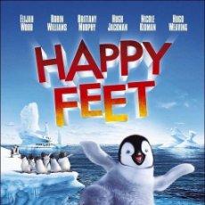 Cine: TRÁILER PELÍCULA DE CINE EN 35MM HAPPY FEET (VERSIÓN LARGA). Lote 242382535