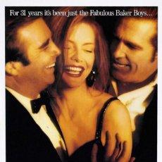 Cine: PELÍCULA LARGOMETRAJE DE CINE EN 35MM LOS FABULOSOS BAKER BOYS (1989). Lote 244993830