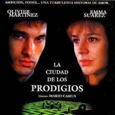 Cine: TRÁILER PELÍCULA DE CINE EN 35MM LA CIUDAD DE LOS PRODIGIOS. Lote 245102895