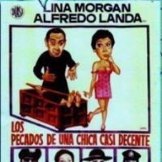 Cine: TRÁILER PELÍCULA DE CINE EN 35MM LOS PECADOS DE UNA CHICA CASI DECENTE. Lote 245103300