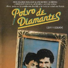 Cine: PELÍCULA LARGOMETRAJE DE CINE EN 35MM POLVO DE DIAMANTES (LEVY Y GOLIATH) (1987). Lote 249289235