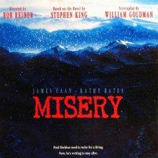 Cine: PELÍCULA LARGOMETRAJE DE CINE EN 35MM MISERY (1990). Lote 254903245