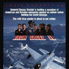 Cine: PELÍCULA LARGOMETRAJE DE CINE EN 35MM ÁGUILAS DE ACERO 2 (1988). Lote 262002750