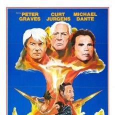 Cine: PELÍCULA LARGOMETRAJE DE CINE EN 35MM LA GUERRA DE LOS MISILES (1978). Lote 266528468