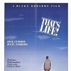 Cine: PELÍCULA LARGOMETRAJE DE CINE EN 35MM ¡ASÍ ES LA VIDA! (1986). Lote 266724828