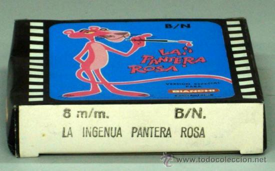 PANTERA ROSA PELÍCULA SUPER 8 MM B/N BIANCHI LA INGENUA PANTERA ROSA (Cine - Películas - 8 mm)