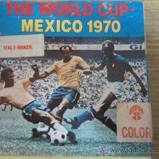 Cine: COPA DEL MUNDO MEXICO 1970 THE WORLD CUP,MEXICO 1970,ITALY-BRAZIL,CAJA ORIGINAL,8 MM. Lote 27704943