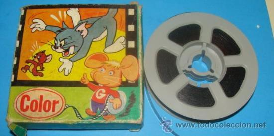 Película Super 8 Dibujos Animados Tom Y Jerry Chaplin Gordo Y Flaco Chaplin Juinsa