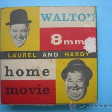 Cine: WALTON FILM 8 MM LAUREL AND HARDY. HOME MOVIE. RISE AND SHINE 352. Lote 33728977