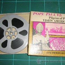 Cine: 8 M/M NO S/8 VISITA DEL PAPA A AMERICA. Lote 35935332
