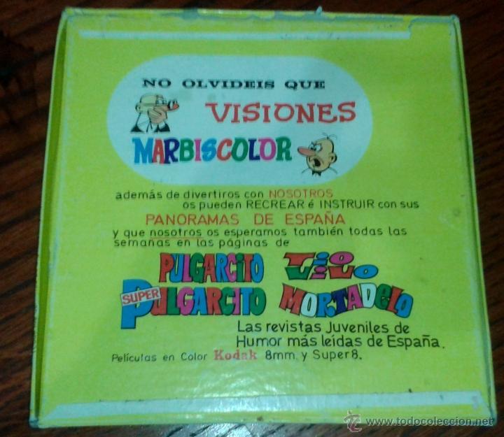 Cine: Mortadelo Y FILEMON 8 mm SONORO Y COLOR. DE LA PRIMERA COLECCION. - Foto 2 - 58617659